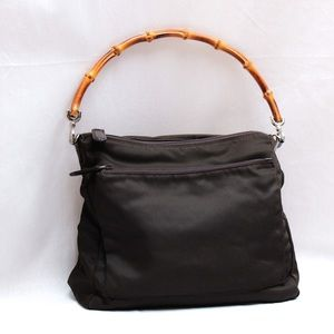 Gucci purse with bamboo handle